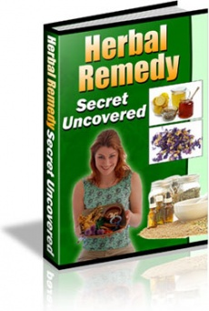 Ebook cover: Herbal Remedy Secret Uncovered