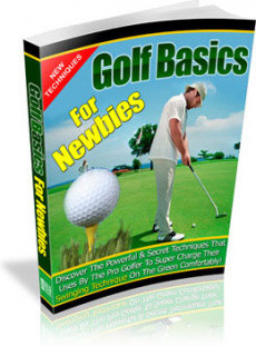 Ebook cover: Golf Basics For Newbies