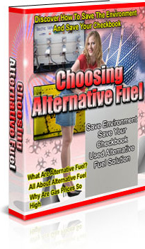 Ebook cover: Choosing Alternative Fuel
