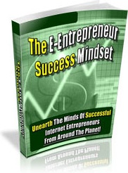 Ebook cover: The E-Entrepreneur Success Mindset