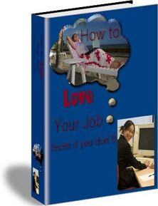 Ebook cover: How to Love Your Job