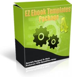 Ebook cover: EZ Ebook Template Package