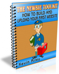 Ebook cover: How To Build And Upload Your First Website