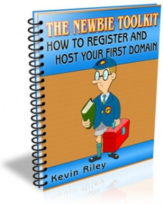 Ebook cover: How To Register And Host Your First Domain