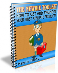 Ebook cover: How To Get And Promote Your First Affiliate Products