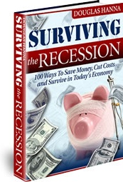 Ebook cover: Surviving the Recession