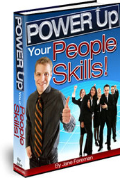 Ebook cover: POWER Up Your People Skills
