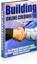 Ebook cover: Building Online Credibility