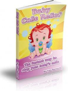 Ebook cover: Baby Colic Relief