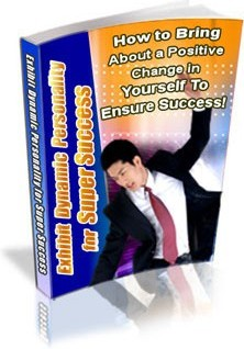 Ebook cover: Exhibit Dynamic Personality for Super Success