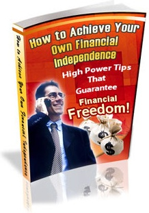 Ebook cover: How to Achieve Your own Financial Independence