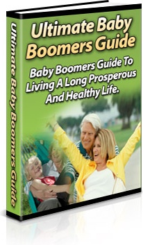 Ebook cover: Ultimate baby Boomers Guide