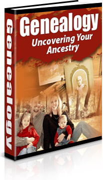 Ebook cover: Genealogy: Uncovering Your Ancestry