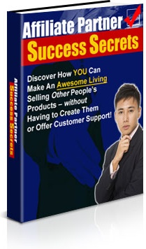 Ebook cover: Affiliate Partner Success Secrets