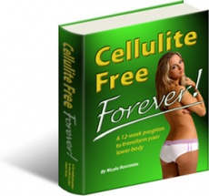 Ebook cover: Cellulite Free Forever