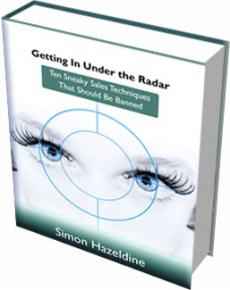 Ebook cover: Getting In Under The Radar