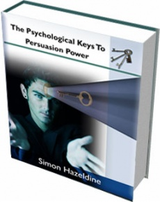 Ebook cover: The Psychological Keys To Persuasion Power