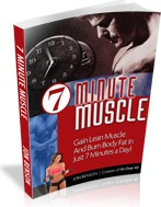 Ebook cover: 7 Minute Muscle!
