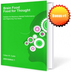 Ebook cover: Brain Food, Food for Thought