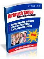 Ebook cover: Airbrush Tattoo
