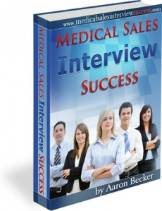 Ebook cover: Medical Sales Interview Success