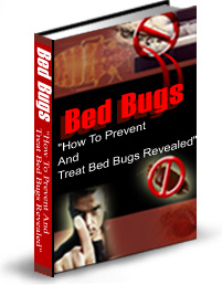 Ebook cover: Bed Bugs