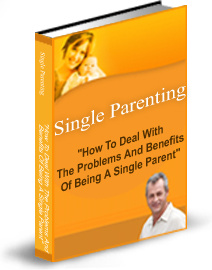 Ebook cover: The Challenges AND Rewards Of Single Parenting