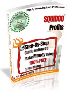 Ebook cover: SQUIDOO Profits