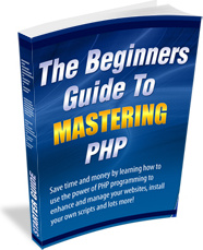 Ebook cover: The Beginners Guide to Mastering PHP