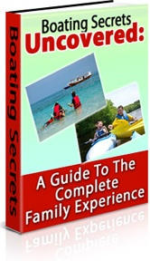 Ebook cover: Boating Secrets Uncovered