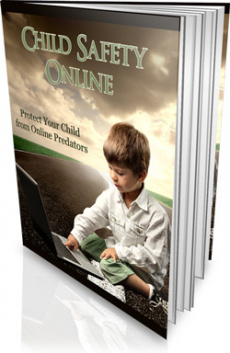 Ebook cover: Child Safety Online