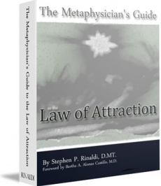 Ebook cover: The Metaphysician's Guide Law of Attraction