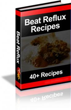 Ebook cover: Beat Reflux Recipes