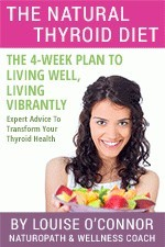 Ebook cover: The Natural Thyroid Diet