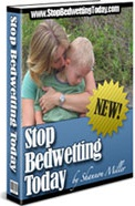Ebook cover: Stop Bedwetting Today