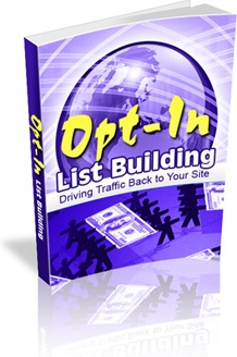 Ebook cover: Opt-In List Building