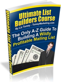 Ebook cover: Ultimate List Builders Course