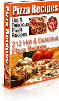 Ebook cover: Pizza Recipes