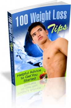 Ebook cover: 100 Weight Loss Tips