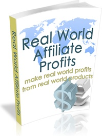 Ebook cover: Real World Affiliate Profits