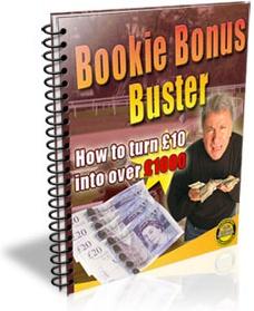 Ebook cover: Bookie Bonus Buster