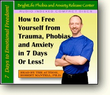 Ebook cover: How To Free Yourself from Trauma, Phobias and Anxiety in 7 Days Or Less