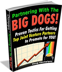 Ebook cover: Partnering With The Big Dogs!