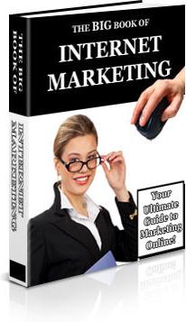 Ebook cover: The Big Book of Internet Marketing
