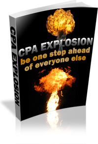 Ebook cover: CPA Explosion