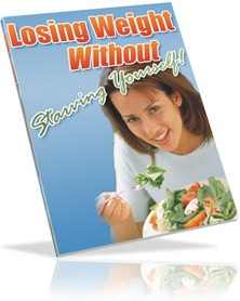 Ebook cover: Lose Weight Without Starving Yourself