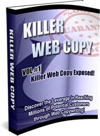 Ebook cover: Killer Web Copy (vol. 1,2,3)