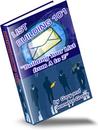 Ebook cover: List Building 101