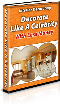 Ebook cover: Interior Decorating:  Decorate Like a Celebrity