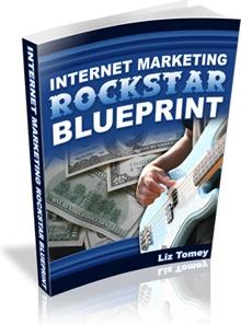 Ebook cover: Internet Marketing RockStar Blueprint